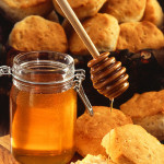 Honey - high in glucose, a sugar that is oxidized for energy by most life on earth, from bacteria to humans. Image: public domain, available at http://commons.wikimedia.org/wiki/File:Runny_hunny.jpg