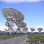 The Very Large Array (VLA) Radio Astronomy Observatory in New Mexico, USA.  Source: http://en.wikipedia.org/wiki/Radio_astronomy#mediaviewer/File:USA.NM.VeryLargeArray.02.jpg